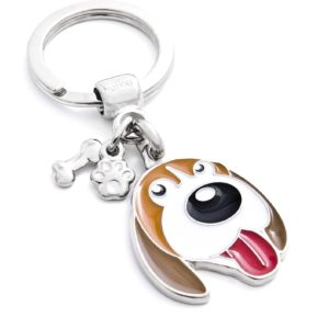 Beagle Key Ring